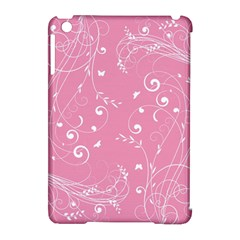 Floral Design Apple Ipad Mini Hardshell Case (compatible With Smart Cover) by ValentinaDesign
