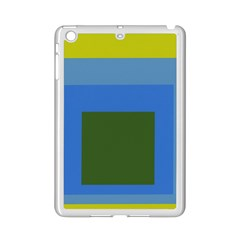 Plaid Green Blue Yellow Ipad Mini 2 Enamel Coated Cases by Mariart