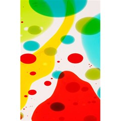 Polkadot Color Rainbow Red Blue Yellow Green 5 5  X 8 5  Notebooks by Mariart