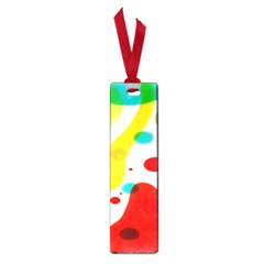 Polkadot Color Rainbow Red Blue Yellow Green Small Book Marks by Mariart