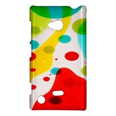 Polkadot Color Rainbow Red Blue Yellow Green Nokia Lumia 720 by Mariart
