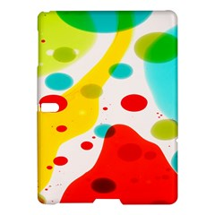 Polkadot Color Rainbow Red Blue Yellow Green Samsung Galaxy Tab S (10 5 ) Hardshell Case  by Mariart