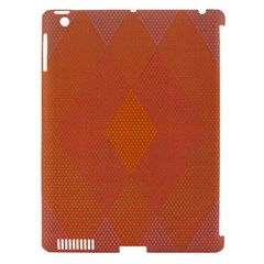 Live Three Term Side Card Orange Pink Polka Dot Chevron Wave Apple Ipad 3/4 Hardshell Case (compatible With Smart Cover) by Mariart