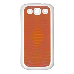 Live Three Term Side Card Orange Pink Polka Dot Chevron Wave Samsung Galaxy S3 Back Case (white) by Mariart
