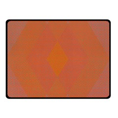 Live Three Term Side Card Orange Pink Polka Dot Chevron Wave Double Sided Fleece Blanket (small)  by Mariart