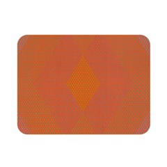 Live Three Term Side Card Orange Pink Polka Dot Chevron Wave Double Sided Flano Blanket (mini)  by Mariart