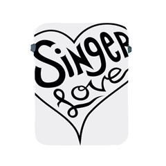 Singer Love Sign Heart Apple Ipad 2/3/4 Protective Soft Cases by Mariart