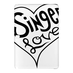 Singer Love Sign Heart Samsung Galaxy Tab Pro 10 1 Hardshell Case by Mariart