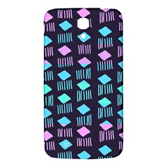 Polkadot Plaid Circle Line Pink Purple Blue Samsung Galaxy Mega I9200 Hardshell Back Case by Mariart