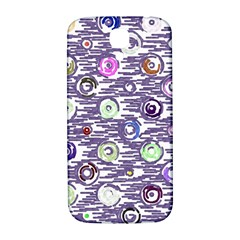 Painted circles     Samsung Note 2 N7100 Hardshell Back Case by LalyLauraFLM