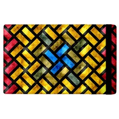 Metal Rectangles      Kindle Fire (1st Gen) Flip Case by LalyLauraFLM