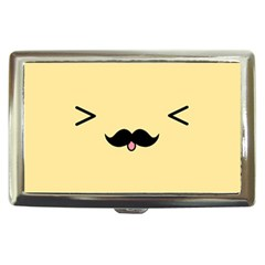 Mustache Cigarette Money Cases by Nexatart