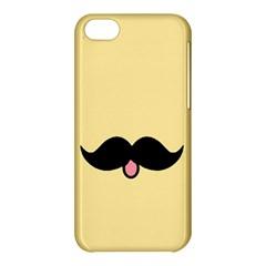 Mustache Apple Iphone 5c Hardshell Case by Nexatart