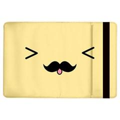 Mustache Ipad Air Flip by Nexatart