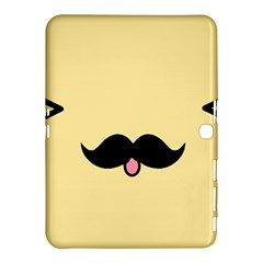 Mustache Samsung Galaxy Tab 4 (10 1 ) Hardshell Case  by Nexatart