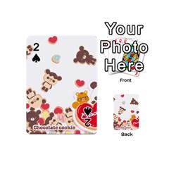Chocopa Panda Playing Cards 54 (mini)  by Nexatart