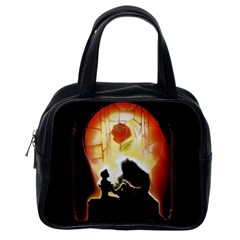 Beauty And The Beast Classic Handbags (one Side) by Nexatart