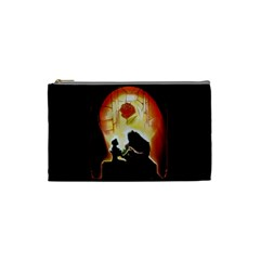 Beauty And The Beast Cosmetic Bag (small)  by Nexatart