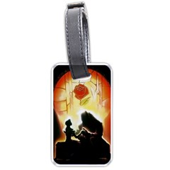 Beauty And The Beast Luggage Tags (one Side)  by Nexatart