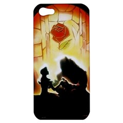 Beauty And The Beast Apple Iphone 5 Hardshell Case by Nexatart