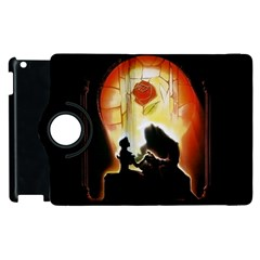 Beauty And The Beast Apple Ipad 3/4 Flip 360 Case by Nexatart