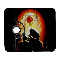 Beauty And The Beast Galaxy S3 (flip/folio) by Nexatart