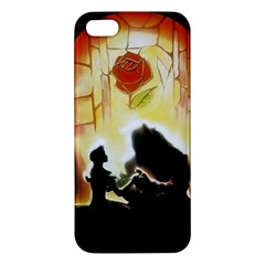 Beauty And The Beast Iphone 5s/ Se Premium Hardshell Case by Nexatart