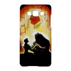 Beauty And The Beast Samsung Galaxy A5 Hardshell Case  by Nexatart