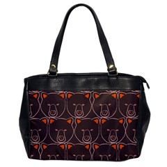 Bears Pattern Office Handbags by Nexatart