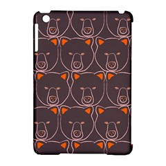 Bears Pattern Apple Ipad Mini Hardshell Case (compatible With Smart Cover) by Nexatart