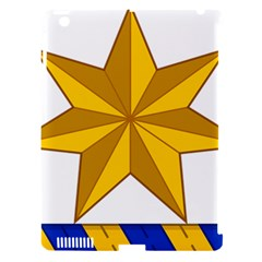 Star Yellow Blue Apple Ipad 3/4 Hardshell Case (compatible With Smart Cover) by Mariart