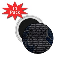 Sherlock Quotes 1 75  Magnets (10 Pack)  by Mariart