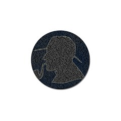 Sherlock Quotes Golf Ball Marker by Mariart