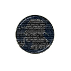 Sherlock Quotes Hat Clip Ball Marker (4 Pack) by Mariart