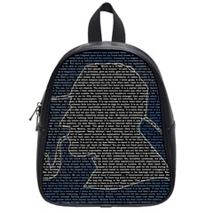 Sherlock Quotes School Bags (small)  by Mariart
