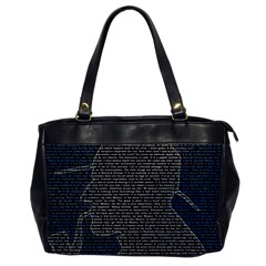 Sherlock Quotes Office Handbags by Mariart