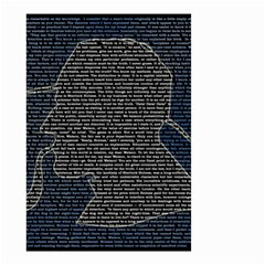 Sherlock Quotes Small Garden Flag (two Sides) by Mariart