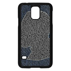 Sherlock Quotes Samsung Galaxy S5 Case (black) by Mariart