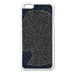 Sherlock Quotes Apple Iphone 6 Plus/6s Plus Enamel White Case by Mariart