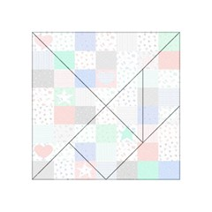 Sweet Dreams Rag Quilt Acrylic Tangram Puzzle (4  X 4 ) by Mariart