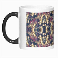 Multicolored Modern Geometric Pattern Morph Mugs by dflcprints