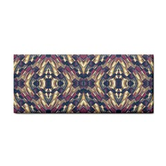 Multicolored Modern Geometric Pattern Cosmetic Storage Cases by dflcprints