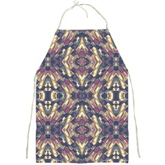 Multicolored Modern Geometric Pattern Full Print Aprons by dflcprints