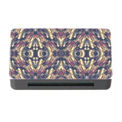 Multicolored Modern Geometric Pattern Memory Card Reader With Cf by dflcprints