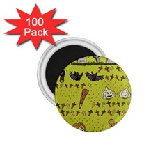 Horror Vampire Kawaii 1 75  Magnets (100 Pack)  by Nexatart