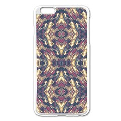 Multicolored Modern Geometric Pattern Apple Iphone 6 Plus/6s Plus Enamel White Case by dflcprints