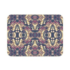 Multicolored Modern Geometric Pattern Double Sided Flano Blanket (mini)  by dflcprints
