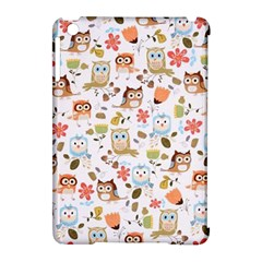 Cute Owl Apple Ipad Mini Hardshell Case (compatible With Smart Cover) by Nexatart
