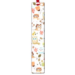 Cute Owl Large Book Marks by Nexatart