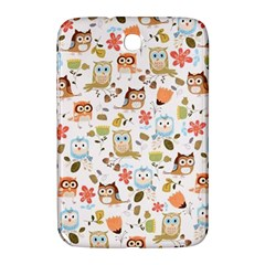 Cute Owl Samsung Galaxy Note 8 0 N5100 Hardshell Case  by Nexatart